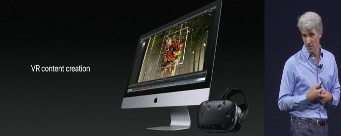 macOS High Sierra VR Improvement