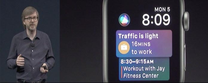 watchOS 4 Siri Based WatchFace