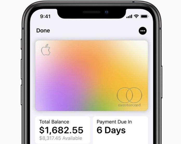 Apple Card On Apple Wallet App