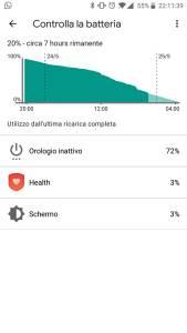Screenshot 2 batteria ticwatch