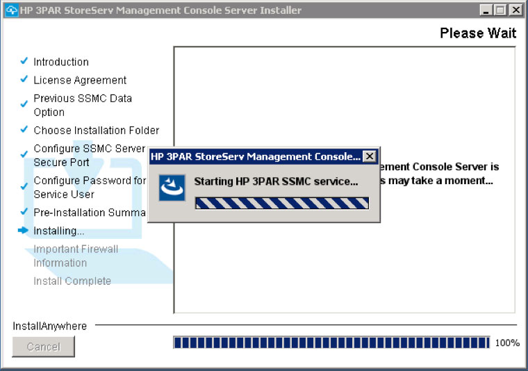 Installing and Configuring HP 3PAR StoreServ Management Console