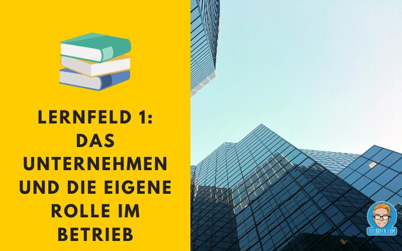 Lernfeld 1 – Fachinformatiker für Systemintegration