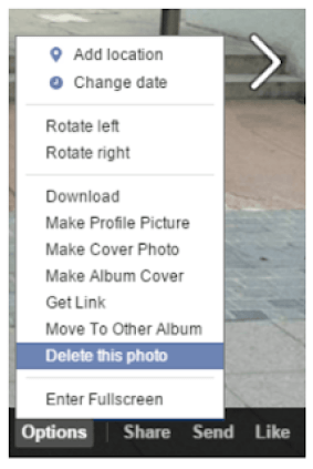 See How To Delete Photos On Facebook