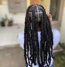 Passion Twists Braids Hairstyles