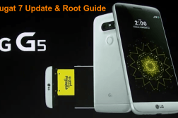 lg g5 nougat update root