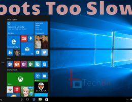 windows 10 slow boot