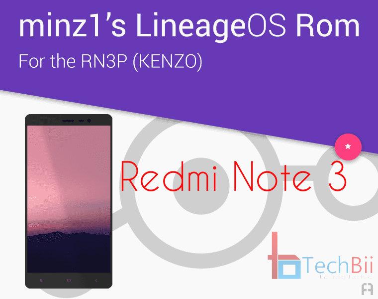 redmi note 3 lineageos