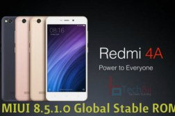redmi 4a miui 8.5 global stable rom