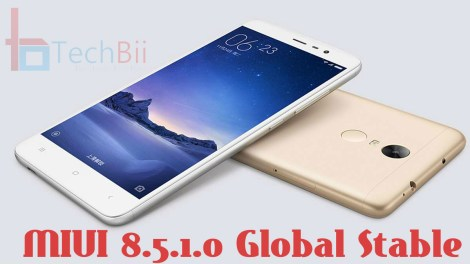 redmi 3 pro miui 8.5.1.0 global stable download
