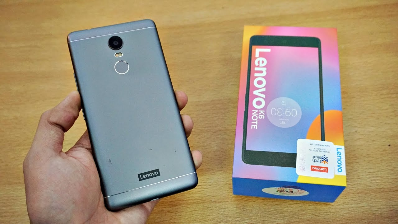 Lenovo K6 Note Nougat Update: Download & Install Official Firmware