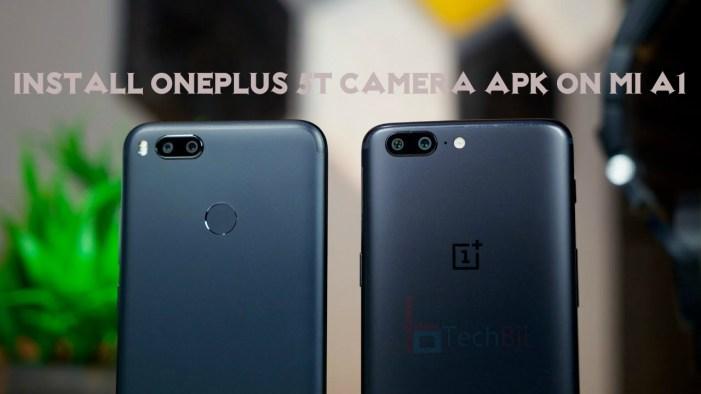 Download OnePlus 5T Camera for Mi A1: Manual Camera Controls