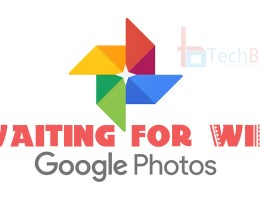 google photos waiting for WiFi
