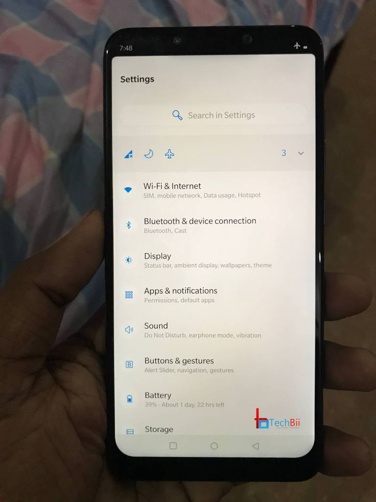 OxygenOS on Poco F1 Settings