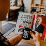 reading book entrepreneur
