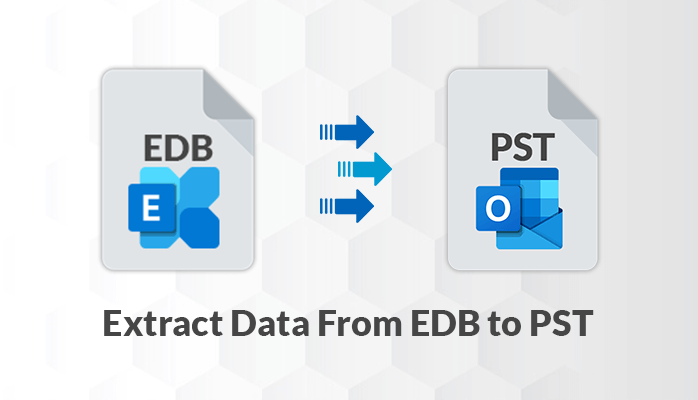 Extract Data From EDB File to Outlook PST
