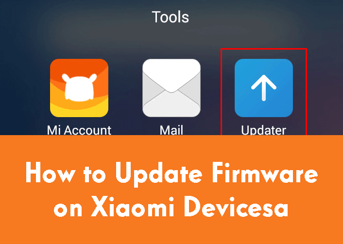 How to Update Firmware on Xiaomi Devices