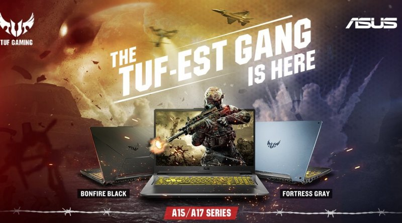 Asus Launches AMD Powered TUF Gaming Laptops