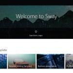 sway homepage