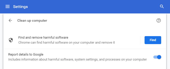 Cleanup Tool In Google Chrome - Missing Chrome Incognito Mode - Missing Incognito Mode