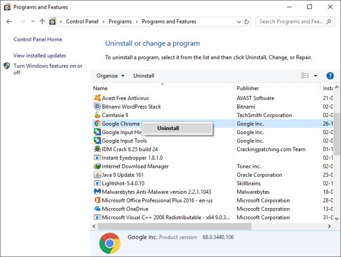 How To Solve Google Chrome Error 0xc00000a5