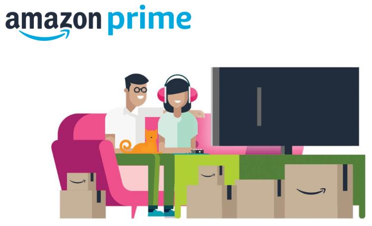 Become Amazon Prime Member