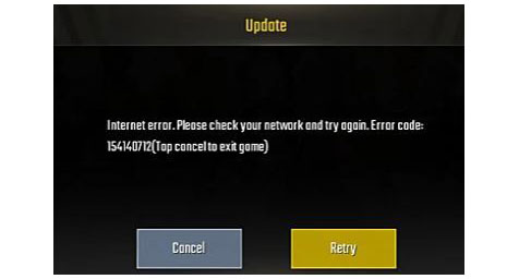How To Fix Pubg Mobile Error 154140712 On Android/iOS