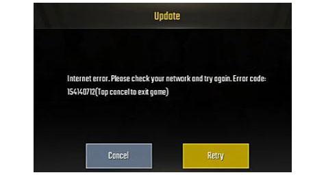 How To Fix Pubg Mobile Error 154140712