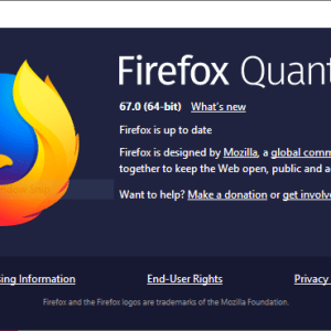 Check Mozilla Firefox Version