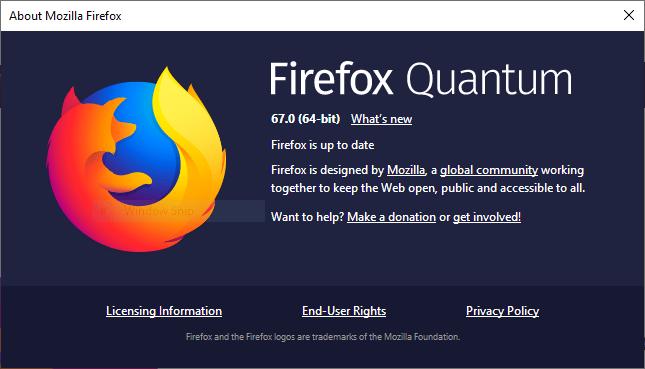 Check Mozilla Firefox Version