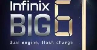 Infinix Big 6 specs and price
