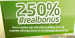 Guide On How To Use Etisalat New Real 250% Bonus Tariff Plan On Every Recharge Above N100