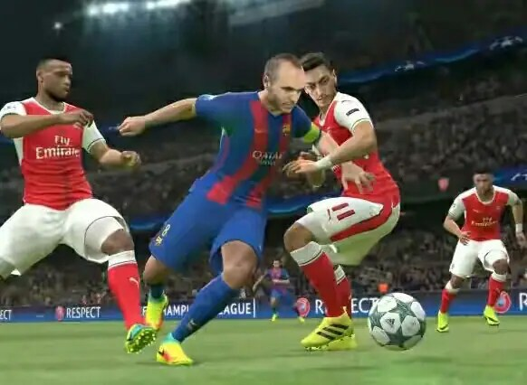 Download And Install PES 2017 Game For PC/Laptops And Android
