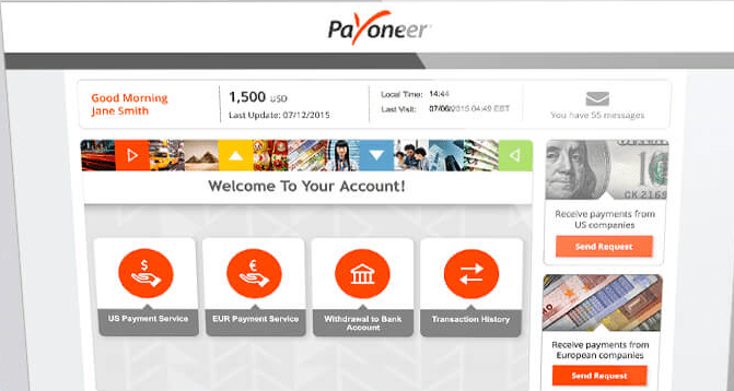 How To Withdraw From Payoneer Account To Your Bank Account