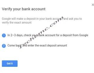 Google adsense payment to payoneer Techbmc.com