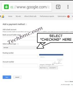 Google adsense payment to payoneer Techbmc