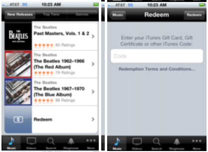 App Store Promo code