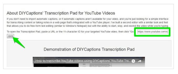 Transcription Pad