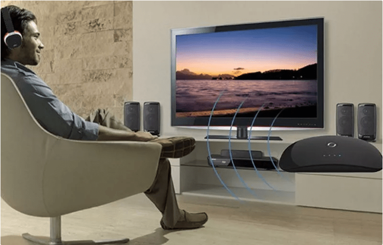connect headphones to tv wireless