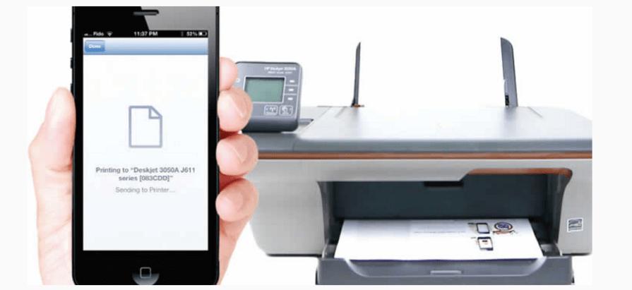 iPhone Print - Print Document Photo Files