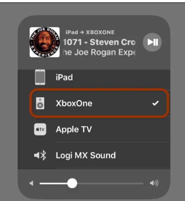 stream video from iphone to xbox one