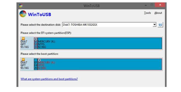 WinToUse USB Drive