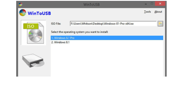 WinToUse software