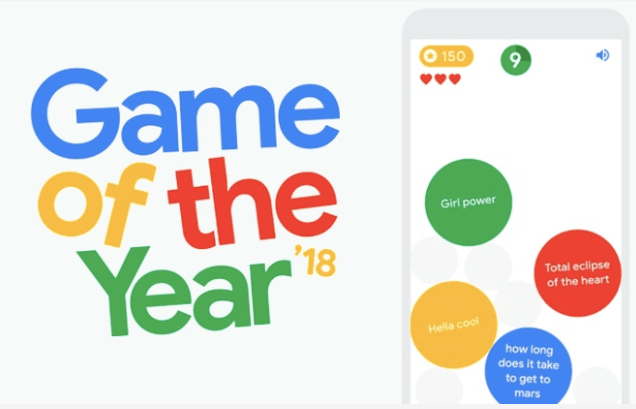 Google game of the year 2018