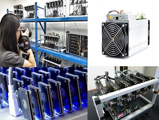 list of cryptocurrency mining machine devices