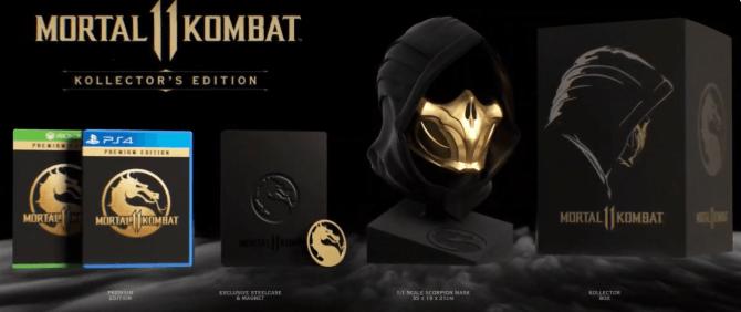 Mortal Kombat 11 Game  Kollector Edition