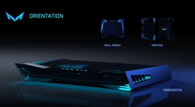 mad box console orientation settings