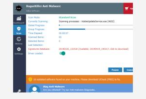 RogueKiller antivirus software