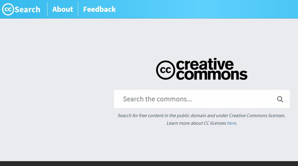 cc search engine