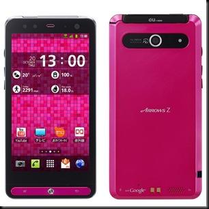 Fujitsu-Toshiba lança smartphone com Android, Arrows-Z, Arrows-Z ISW11F