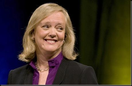 HP nomeia Meg Whitman como presidente-executiva, HP anuncia troca de presidente por ex-executiva do eBay, Meg Whitman,